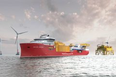 Nexans mark the construction of cable installation vessel Aurora