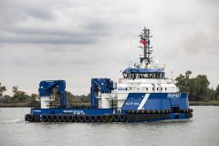 Seafast Marine's RSV named at Damen Shipyards Hardinxveld