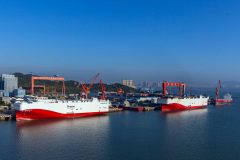 LNG-Fuelled Propulsion Solution for VW Car Carriers
