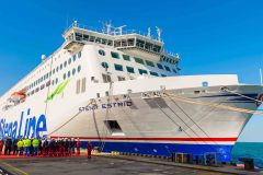 Stena Line takes delivery oF Irish Sea-bound ferry