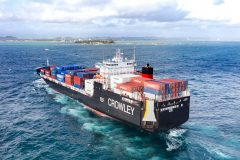Crowley's LNG Fueled ConRo Ships Named Significant Boat of the Year