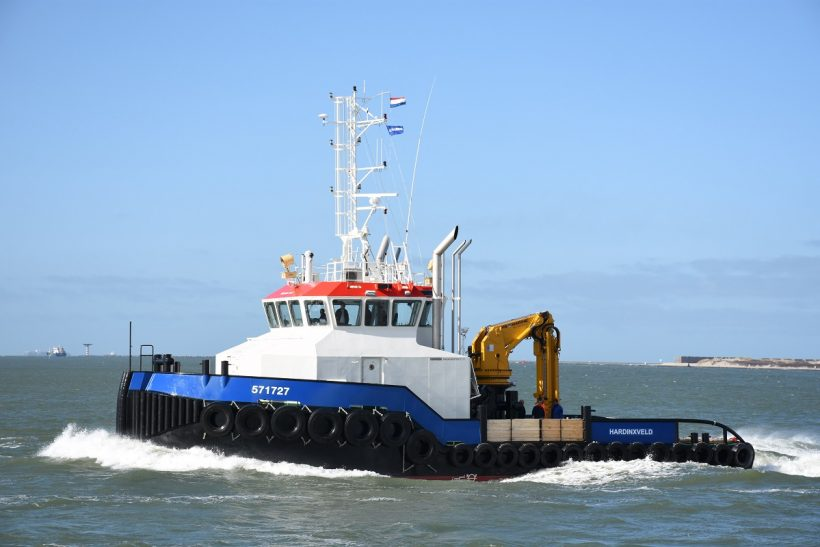 Damen to supply EMS Offshore with new Shoalbuster 2711