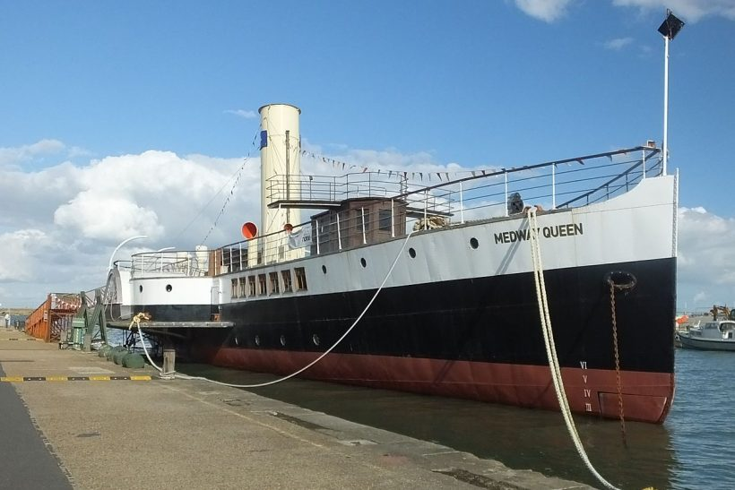 Medway Queen and the 80th Operation Dynamo Anniversary in Ramsgate