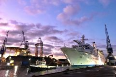 Damen Amsterdam completes triple cruise ship maintenance programme