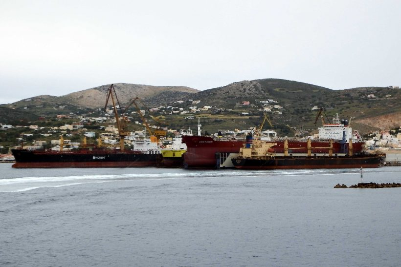 Greek shipbuilding looking to the future