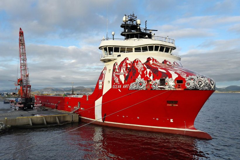 Offshore supply vessels converted to hybrid propulsion