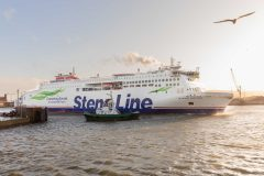 New ferry Stena Estrid makes her debut on the Irish Sea