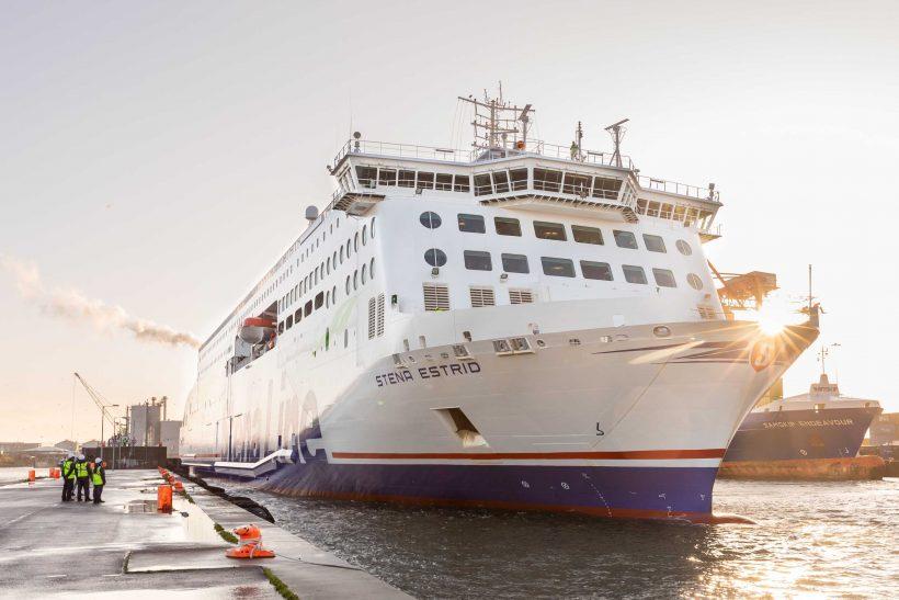 Stena Estrid enters service on Holyhead-Dublin route