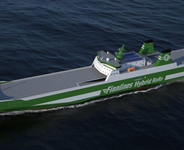 Finnlines ships to go green with Wärtsilä Hybrid Systems
