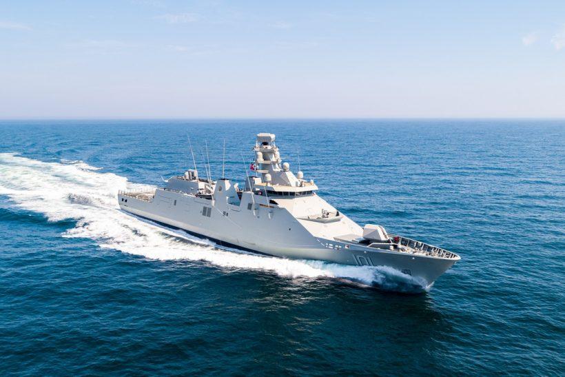 Damen delivers Long Range Ocean Patrol Vessel to the Mexican Navy