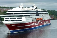 Volume of freight transport has remained high on Viking Line ships