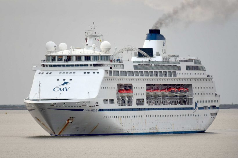 Columbus repatriation voyage arrives in London Tilbury