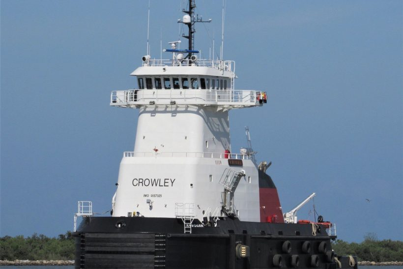 Crowley Takes Delivery of ATB Dedicated to Alaska Fuels Service
