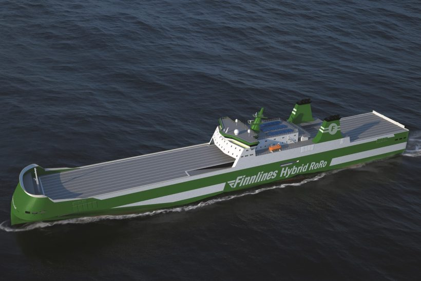Finnlines Orders First Two-Stroke Propulsion Package