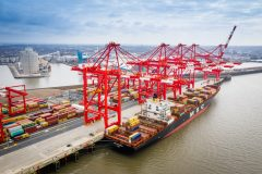 Peel Ports marks record container volume from single vessel