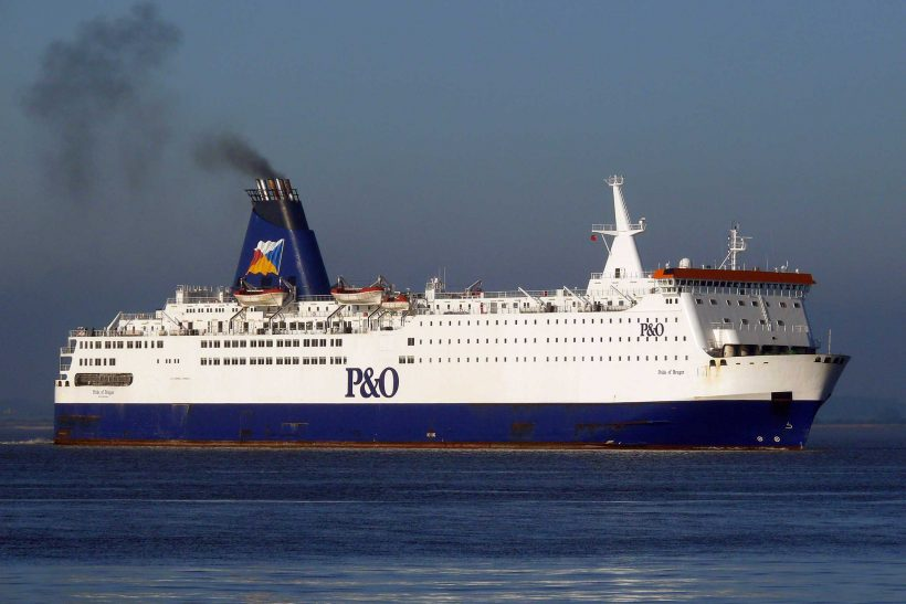 P&O cruise ferries laid up in Hull