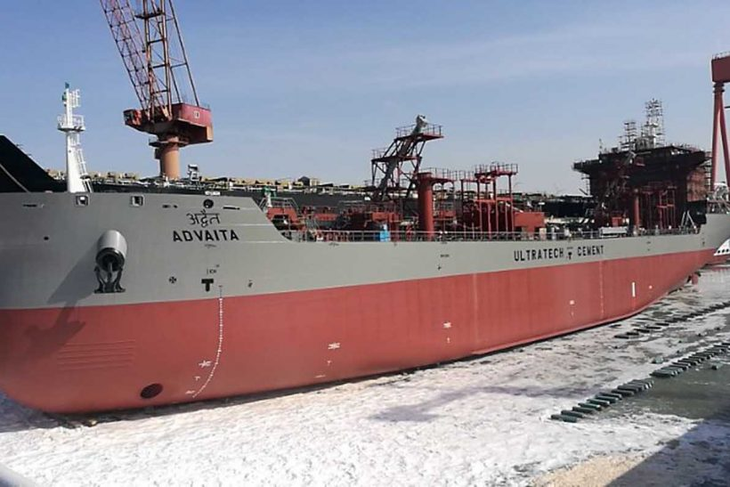 New cement carrier Advaita launched in China