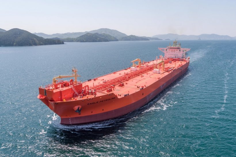 AET takes delivery of first of four DP2 shuttle tankers