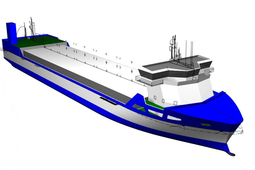 LNG-fuelled vessels for Bore Ltd