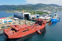 Outfitting of Nexans Aurora starts at Ulstein Verft