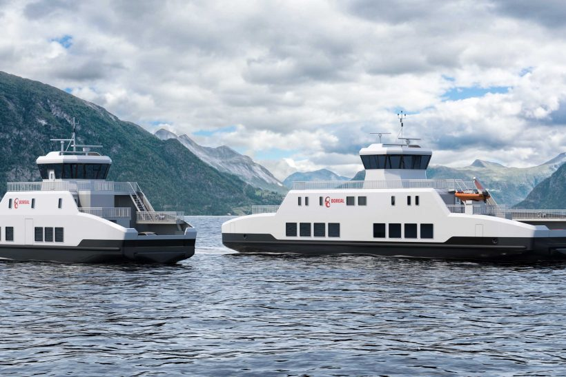 Wärtsilä's two zero-emissions battery powered ferries