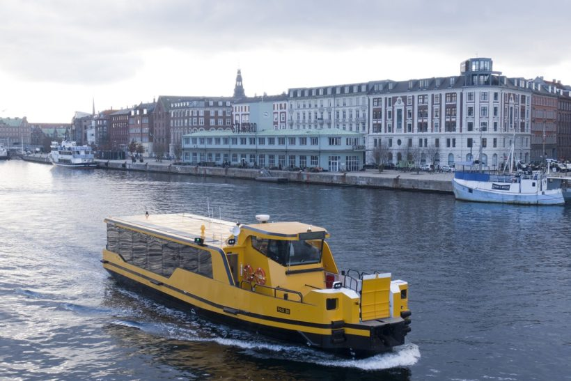 Damen delivers five zero emissions propulsion  ferries to Arriva in Copenhagen