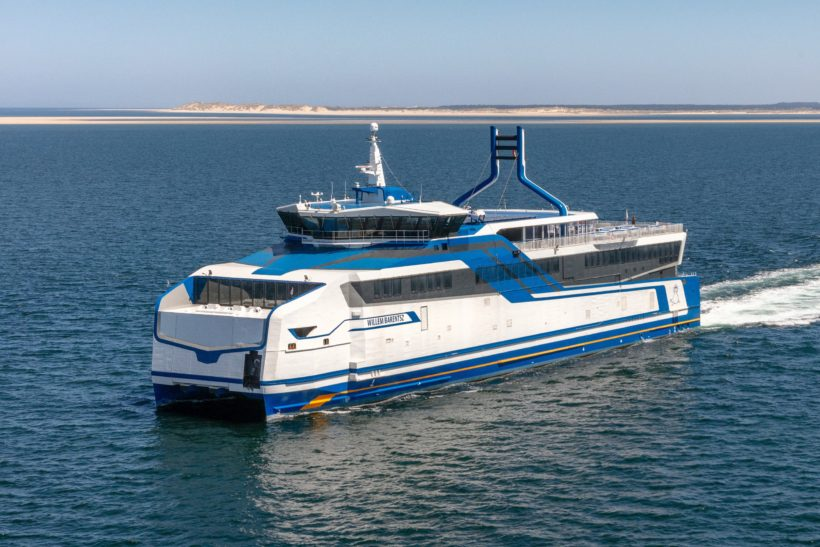 Rederij Doeksen celebrates introduction of new ferry Willem Barentsz