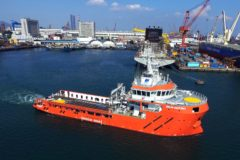New addition to Sentinel Marine Fleet leaves China to join North Sea Operations