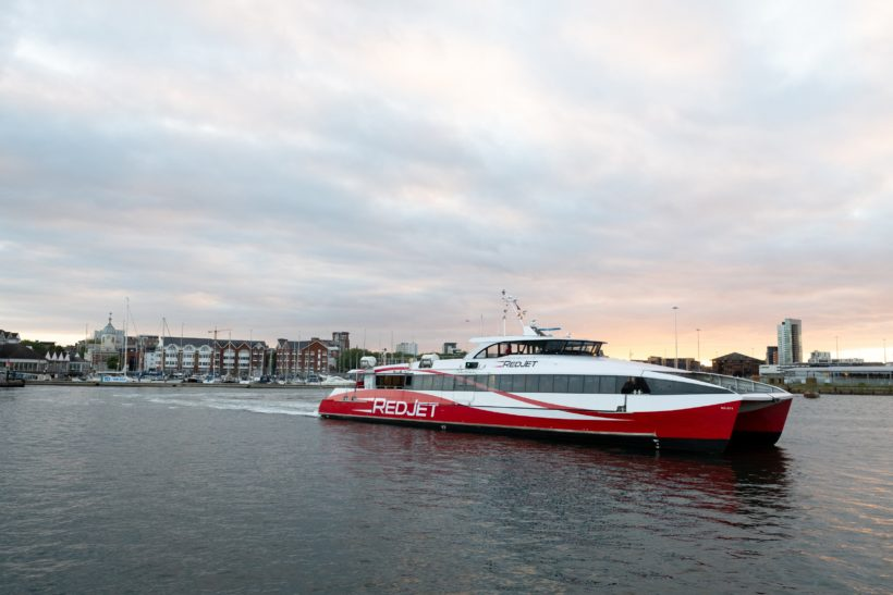 Red Jets return as sailings resume after 72-day suspension of service