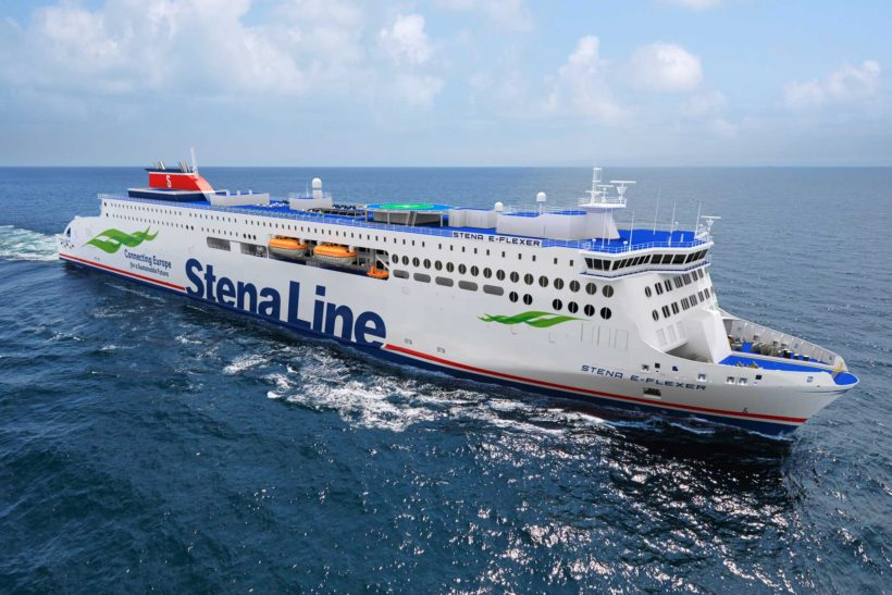 New builds have started on two new larger Stena Line ferries