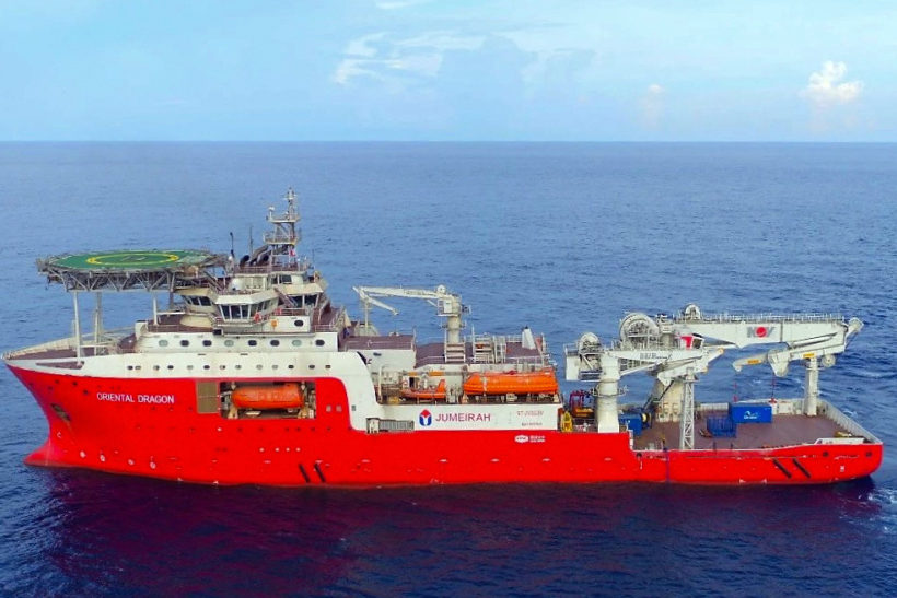 China delivers research and dive support vessel