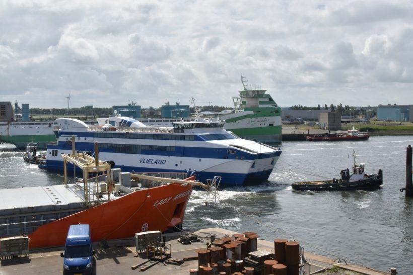 Damen Harlingen completes repair project on Vlieland ferry