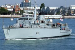 Two Royal Navy ships to provide continued presence in the Gulf