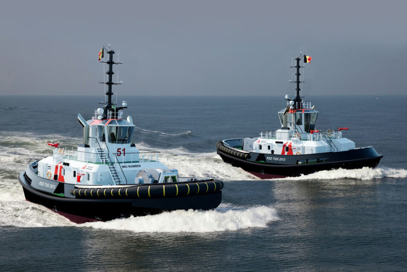 Damen signs contract with Port of Antwerp for new tugs