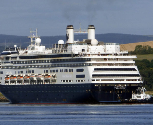 Amsterdam arrives at Rosyth and is set to become Fred. Olsen's Bolette