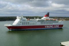 Viking's Amorella runs aground – again