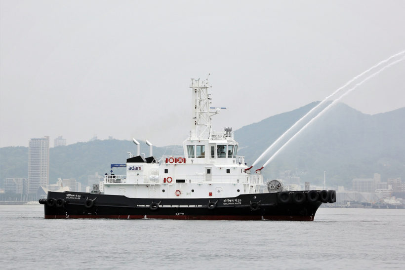Successful delivery of new tug to Adani Vizhinjam Port