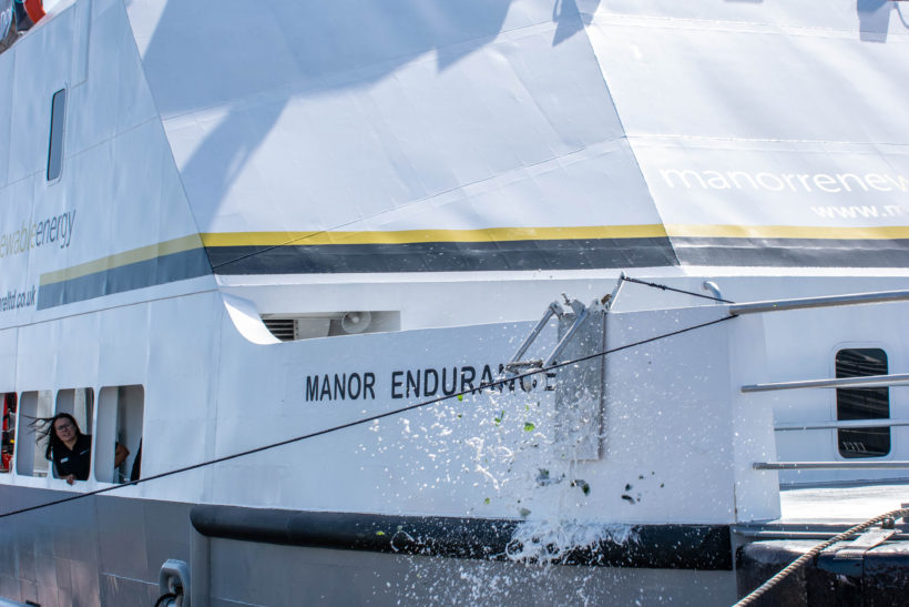 Manor Marine announces the completion of latest Wind Farm Service Vessel