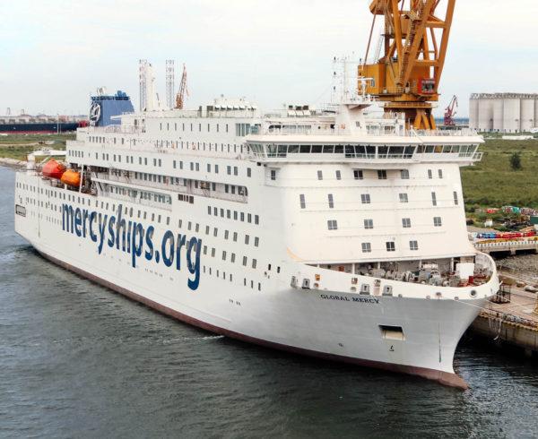 Wärtsilä powers world's largest NGO hospital ship