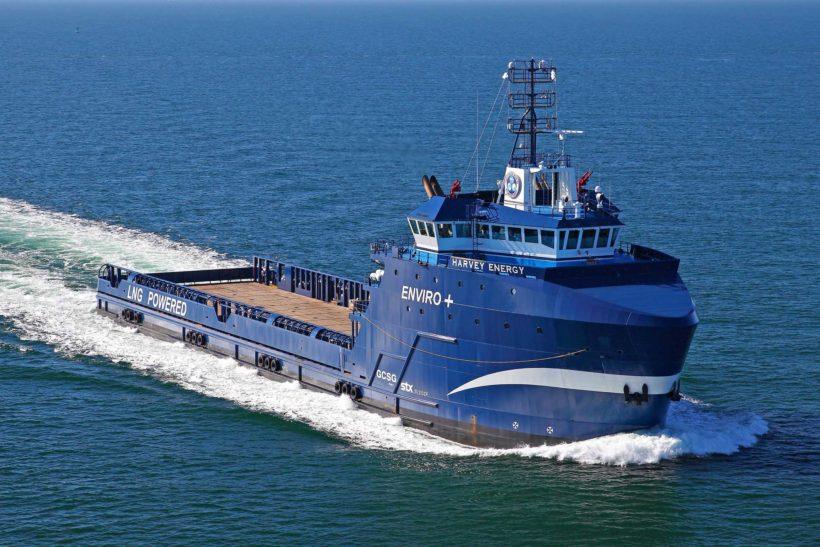 Harvey Gulf orders Wärtsilä Energy Storage for four LNG-powered Supply Vessels