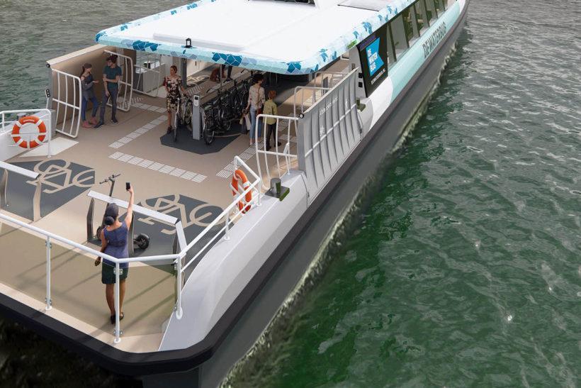 Damen signs with Aqualiner-Swets in nine vessel order