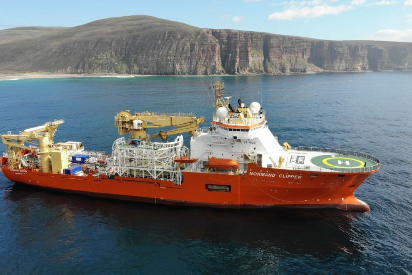 CFS Plays Key Role in Normand Clipper Conversion at Port of Blyth