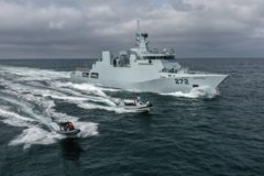 Pakistan Navy vessel PNS Tabuk commissioned in Romania