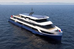New Swiss Inland ferries with hybrid propulsion
