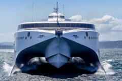 Incat delivers large new fast ferry to Trinidad and Tobago government