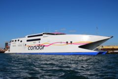 Condor high-speed ferries on the move