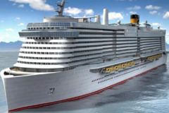 Costa Cruises celebrates float-out ceremony for Costa Toscana