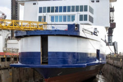 Damen Group subsidiaries join forces to get P&O Ferries' Pride of Canterbury back to work