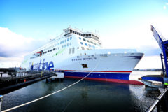 Stena Line's newest ship debuts on Rosslare-Cherbourg Route