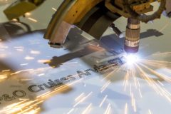 Steel-cutting ceremony held for P&O Cruises second Excel class ship Arvia